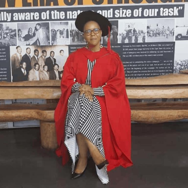 Meet the Graduate: Dr. Nomathemba Memela